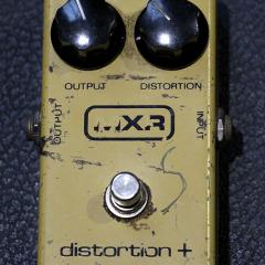 MXR Distortion + Plus Pedal