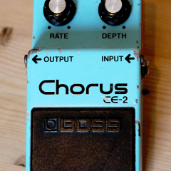 Vintage BOSS CE-2 Chorus Pedal
