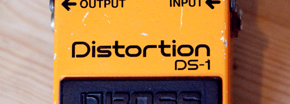 Vintage BOSS DS-1 Distortion Pedal